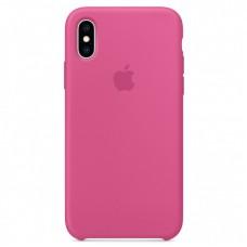 Чехол Apple Silicone Case (Dragon Fruit) для iPhone X/XS