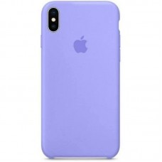 Чехол Apple Silicone Case (Lilac) для iPhone X/XS