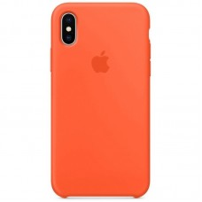 Чехол Apple Silicone Case (Orange) для iPhone X/XS