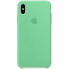 Чехол Apple Silicone Case (Spearmint) для iPhone X/XS