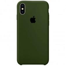 Чехол Apple Silicone Case (Virid) для iPhone X/XS