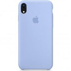 Чехол Apple Silicone Case (Lilac Cream) для iPhone XR