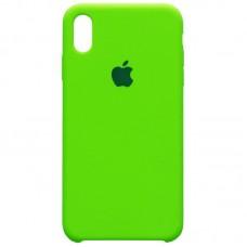 Чехол Apple Silicone Case (Lime Green) для iPhone XR