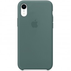 Чехол Apple Silicone Case (Pine Green) для iPhone XR