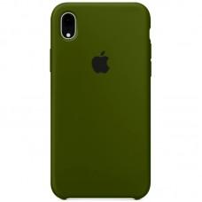 Чехол Apple Silicone Case (Virid) для iPhone XR