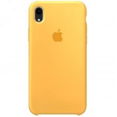 Чехол Apple Silicone Case (Yellow) для iPhone XR