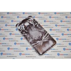 Чехол-бампер для Samsung Galaxy J3 / J320 (Белый тигр) (2016)