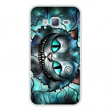 Чехол для Samsung Galaxy J3 / J320 (Чеширский кот) (2016)