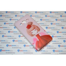 Чехол-бампер для Samsung Galaxy J3 / J320 (Девочка) (2016)