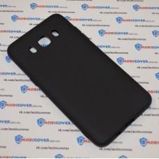 Чехол-бампер для Samsung Galaxy J5 / J510 (Черный силикон) (2016)