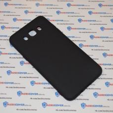 Чехол-бампер для Samsung Galaxy J7 / J710 (Черный силикон) (2016)