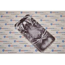 Чехол-бампер для Samsung Galaxy J7 / J710 (Белый тигр) (2016)