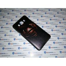 Чехол-бампер для Samsung Galaxy J7 / J710 (Супермен&Бэтмен) (2016)