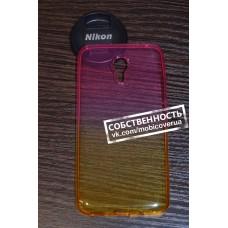 Чехол-бампер для Meizu M2 Note (Желто-розовый)