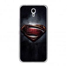 Чехол-бампер для Meizu M5 (Супермен)