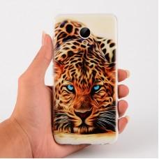 Чехол-бампер для Meizu M5s (Леопард)