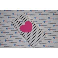 Чехол-бампер для Meizu M6 (Большое сердце)