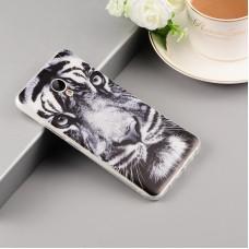 Чехол-бампер для Meizu M6 Note (Белый тигр)