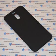 Чехол-бампер для Meizu M6 Note (Черный силикон)