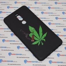 Чехол-бампер для Meizu M8 Note (Smoke Marijuana)