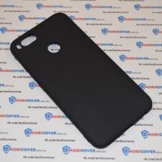 Чехол-бампер для XiaoMi Mi A1 (Черный силикон)