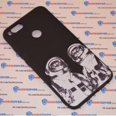 Чехол для XiaoMi Mi A1 (Коты космонавты)