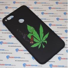 Чехол-бампер для XiaoMi Mi A1 (Smoke Marijuana)