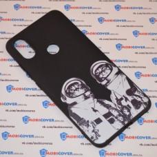 Чехол для XiaoMi Mi A2 (Коты космонавты)