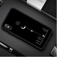 Чехол для XiaoMi Mi A2 Lite (Человек на луне)