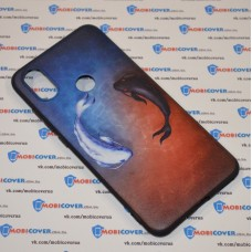 Чехол-бампер для XiaoMi Mi A2 (Рыбки)