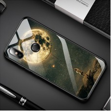 Стеклянный чехол для XiaoMi Mi A2 (Похититель луны)
