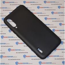 Чехол для XiaoMi Mi A3 (Черный силикон)