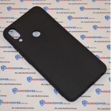 Чехол для Meizu Note 9 (Черный силикон)