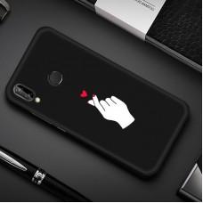 Чехол для Huawei P Smart 2019 (Щелчок любви)