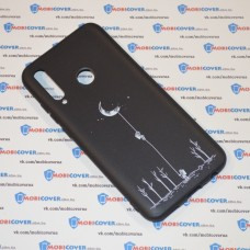Чехол для Huawei P Smart Plus 2019 (Человек на луне)