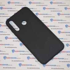 Чехол для Huawei P Smart Plus 2019 (Черный силикон)