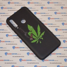 Чехол для Huawei P Smart Plus 2019 (Smoke Marijuana)