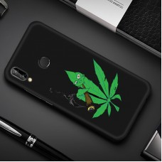 Чехол для Huawei P Smart Plus (Smoke Marijuana)