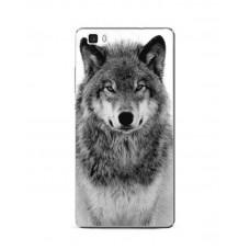 Чехол-бампер для Huawei P8 Lite (Волк)