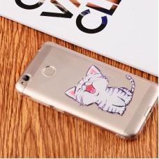 Чехол-бампер для XiaoMi Redmi 4X (Котенок)
