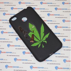 Чехол-бампер для XiaoMi Redmi 4X (Smoke Marijuana)