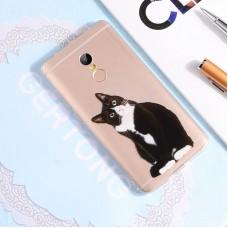 Чехол-бампер для XiaoMi Redmi 5 (Кот)