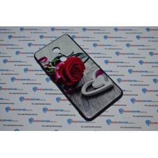 Чехол-бампер для XiaoMi Redmi 5 (Красная роза)