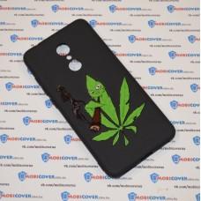 Чехол-бампер для XiaoMi Redmi 5 (Smoke Marijuana)