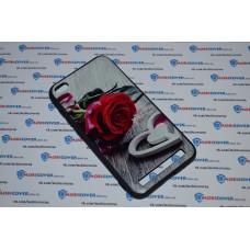Чехол-бампер для XiaoMi Redmi 5A (Красная роза)