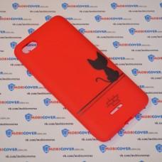 Чехол для XiaoMi Redmi 6A (Черный кот)