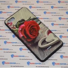 Чехол-бампер для XiaoMi Redmi 6A (Красная роза)