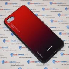Стеклянный чехол для XiaoMi Redmi 6A (Красный)