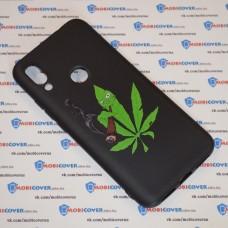 Чехол для XiaoMi Redmi 7 (Smoke Marijuana)