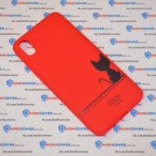 Чехол для XiaoMi Redmi 7A (Черный кот)